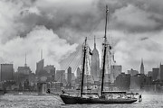 Bank Of America Photos - Schooner Roseway by Susan Candelario