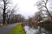 Montgomery Prints - Schuylkill Canal at Phoenixville and Mont Clare Print by Bill Cannon