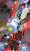 Abstract Digital Painting Prints - Sci-Fi Print by Francoise Dugourd-Caput