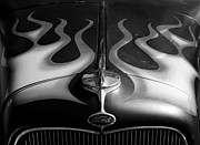 Custom Ford Metal Prints - Scorched Metal Print by Luke Moore
