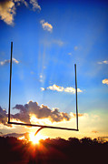 Goalpost Framed Prints - Score Framed Print by Olivier Le Queinec