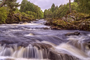 Jason Politte Prints - Scotlands Falls of Dochart - Killin Scotland Print by Jason Politte