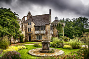 Autumn Prints Prints - Scotney Castle 4 Print by Chris Thaxter