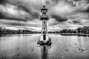 Steve Purnell - Scott Memorial Lighthouse Roath Park Cardiff 1 Mono