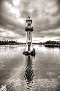 Steve Purnell - Scott Memorial Lighthouse Roath Park Cardiff 2 mono