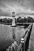 Steve Purnell - Scott Memorial Lighthouse Roath Park Cardiff 3 mono