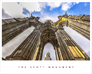 Scott Originals - Scott Monument-Edinburgh by Anusha Hewage