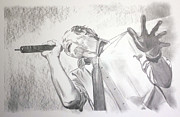 Stone Temple Pilots Drawings - Scott Weiland by Phil  Robinson