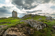Matt Trimble Prints - Scottish Borders - Smailholm Tower Print by Matt  Trimble
