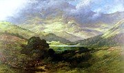 Dore Painting Posters - Scottish Highlands Poster by Pg Reproductions