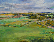 Lowlands Prints - Scottish Lowlands Print by Michael Creese