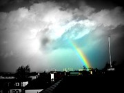 Urban Landscape Photos - Scottish Rainbow by Mlle Marquee