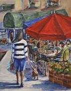 Scottsdale Paintings - Scottsdale Sunday by Daniel R Altman