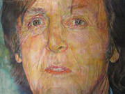 Paul Mccartney Drawings - Scrambled Eggs by Ivonne Bess