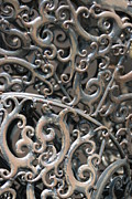 Southwick Framed Prints - Sculpture Detail Vertical Framed Print by Barbara Bardzik
