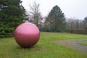 Mccorkle Metal Prints - Sculpture of a Sphere Metal Print by Jan Marijs
