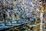 Aqua Condominiums Art - Sculpture Reflections - Abstract by Jean OKeeffe by Jean OKeeffe