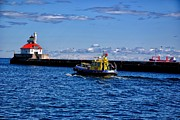 Duluth Art - Sea Bear Tug 3 by Todd and candice Dailey