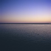 Nightfall Prints - Sea Print by Bernard Jaubert