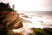 Joe Klune Metal Prints - Sea cliffs Metal Print by Joe Klune