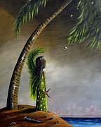 Sea Fairy II By Shawna Erback Print by Shawna Erback