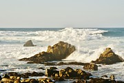Sea Foam Framed Prints - Sea Foam Framed Print by Barbara Snyder