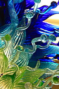 Art Glass Prints - Sea Glass Print by Karon Melillo DeVega