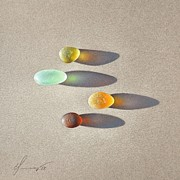 Elena Kolotusha - Sea glass - the race