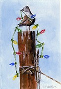 Sheryl Heatherly Hawkins - Sea Gull with Holiday...