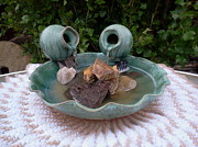 Yvonne Cacy - Sea Mist Pottery Water...