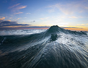 Ocean Photo Prints - Sea Mountain Print by Sean Davey