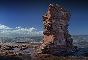 Randall Nyhof - Sea Stack at North Cape on Prince Edward Island