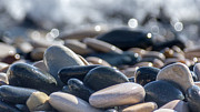 Peaceful Scenery Prints - Sea Stones  Print by Stylianos Kleanthous