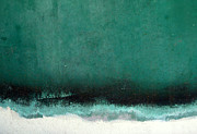 Seafoam Abstract Prints - Sea Storm Print by Robert Riordan