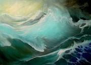 Print On Canvas Prints - Sea storm Print by Svilen And Lisa