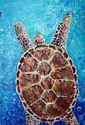 Ashleigh Dyan Bayer - Sea Turtle Pearls of Love