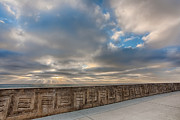 Sea Wall Prints - Sea Wall Print by Peter Tellone
