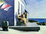 Sea Watchers Print by Edward Hopper