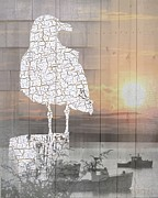 Sharon Marcella Marston - SeaGull Collage