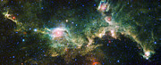 Science Fiction Photo Posters - Seagull Nebula Poster by Adam Romanowicz