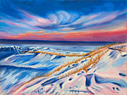 Paintings Available As Prints - Seahore in Winter by Phillip Compton