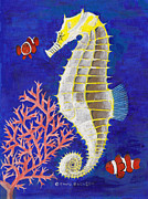 David Jackson - Seahorse and Clowns