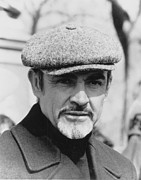 Steven Huszar Metal Prints - Sean Connery Metal Print by Steven Huszar