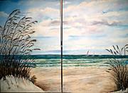Arlen Avernian Thorensen - Seaoats on the beach