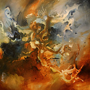 Large Paintings - Searching for Chaos by Michael Lang