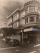 Grocery Store Prints - Searchlight Market - San Francisco Print by Daniel Hagerman