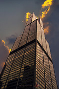 Ledge Photos - Sears Willis Tower by Thomas Woolworth