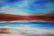 Summer Fun Paintings - Seascape by Annmarie Vierick
