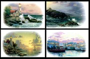 Kinkade Prints - Seascape Collection Print by Thomas Kinkade