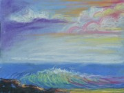 Bethel Painting Posters - Seascape Dream Poster by Patricia Kimsey Bollinger